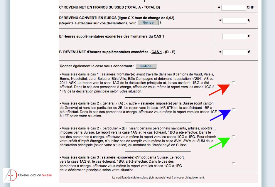 Tutoriel déclaration d'impôt frontalier #11