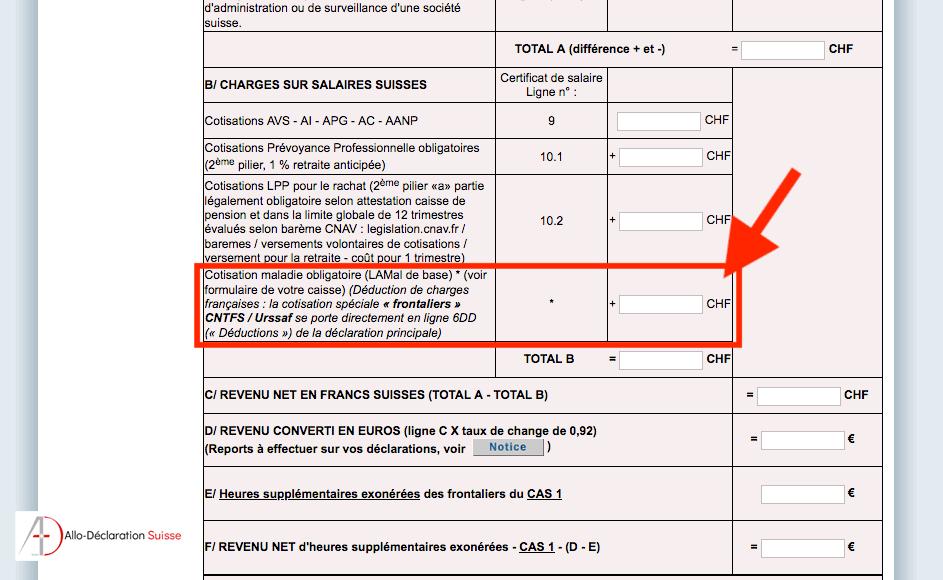 Tutoriel déclaration d'impôt frontalier #10